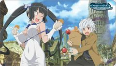 """Play Mat """"DanMachi: Is it Wrong to Try to Pick up Girls in a Dungeon? (Bell & Hestia)"""" by Ultra PRO"""