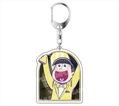 "Acrylic Key Holder ""Osomatsu-san (Jyushimatsu) Formal Ver."" by avex pictures"