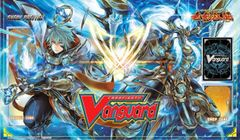 """Cardfight Vanguard Rubber Mat """"Legion of Dragons & Blades (Glare & Aglovale)"""" by Bushiroad"""