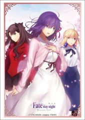 "Sleeve Collection HG ""Fate/ stay night [Heaven's Feel] (Sakura/Saber/Rin)"" Vol.1806 by Bushiroad"