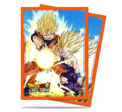 """Deck Protector Sleeves Standard Size """"Dragon Ball Super (Father-Son Kamehameha)"""" by Ultra PRO"""