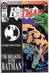 Batman #497 (1993) by DC Comics