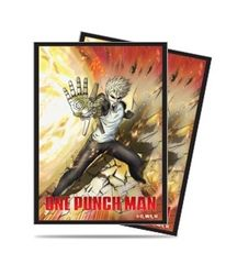 """Deck Protector Sleeves Standard Size """"One Punch Man (Genos)"""" by Ultra PRO"""