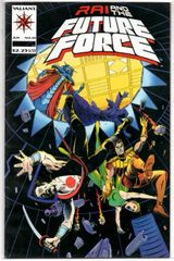 Rai and the Future Force #10 (1993) by Valiant