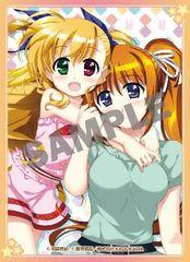 """Card Sleeve Vol.5 Comptiq Cover Collection """"Magical Girl Lyrical Nanoha ViVid (Vivio & Nanoha)"""" KS-16 by Kadokawa"""