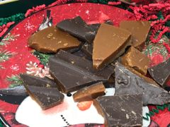 Butter Toffee with Dark Chocolate