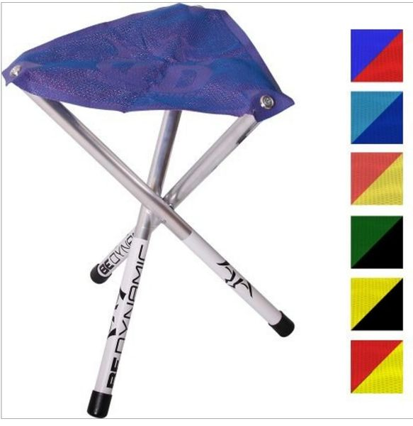 Disc Golf Two Tone Mesh Camp Time Roll-a-Stool Chair