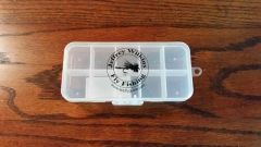 JWFF 10 Compartment Fly Box -Great for Dry Flies