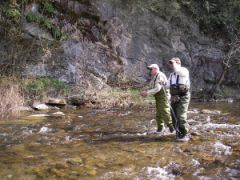 ON THE WATER FLY FISHING SCHOOL 3 PEOPLE