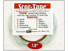 "Scor-Tape (001) 1/8"""
