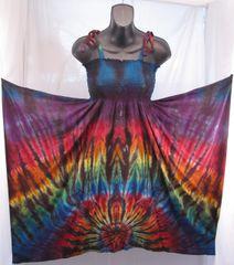 Rainbow Spider Festival Dress/Skirt