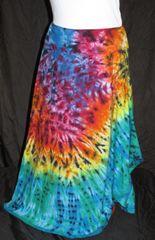 Rainbow Marble Lotus Skirt