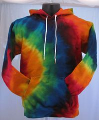 Rainbow Adult Hooded Sweatshirt