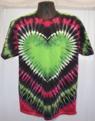 Giant Green Heart Kids T-Shirt