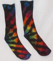 Rainbow Sunrise Bamboo Socks