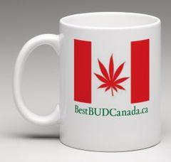 BestBUDCanada Flag Mug