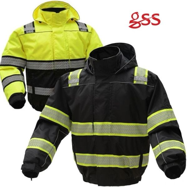 34d131ec144 ONYX 3-IN-1 Ripstop Winter Black Bomber Jacket  GSS8511 GSS8513 ...