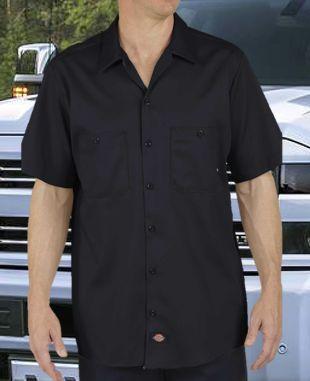 eee6cb98146 Dickies Industrial Cotton Short Sleeve Work Shirt LS307  20.99