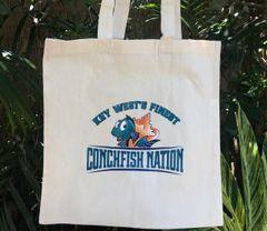 Conchfish Nation Tote Bag