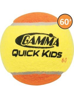 Gamma Quick Kids 60 Tennis Ball 60' Court