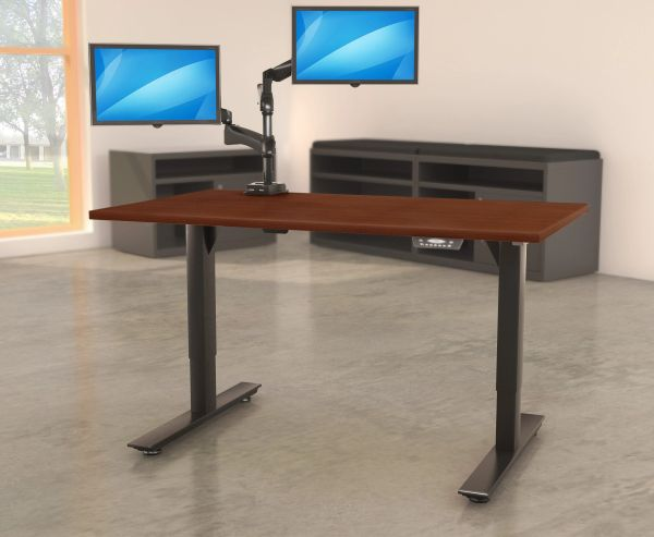 Electric Sit To Stand Desk Oklahoma City Office Furniture Okc