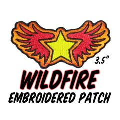 WILDFIRE Embroidered Patch