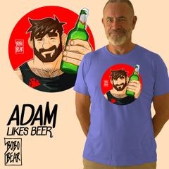Adam Likes Beer by Bobo Bear
