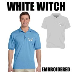 WHITE WITCH Embroidered shirts
