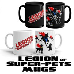 Legion of Super pets Mugs