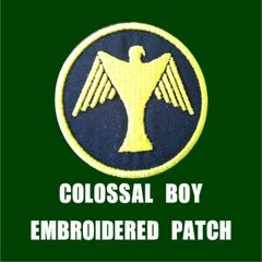 COLOSSAL BOY Embroidered Patch