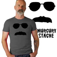 MURCURY Stache shirt