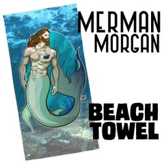 Merman: Morgan Beach Towel