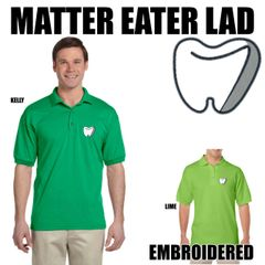 MATTER EATER LAD Embroidered shirts