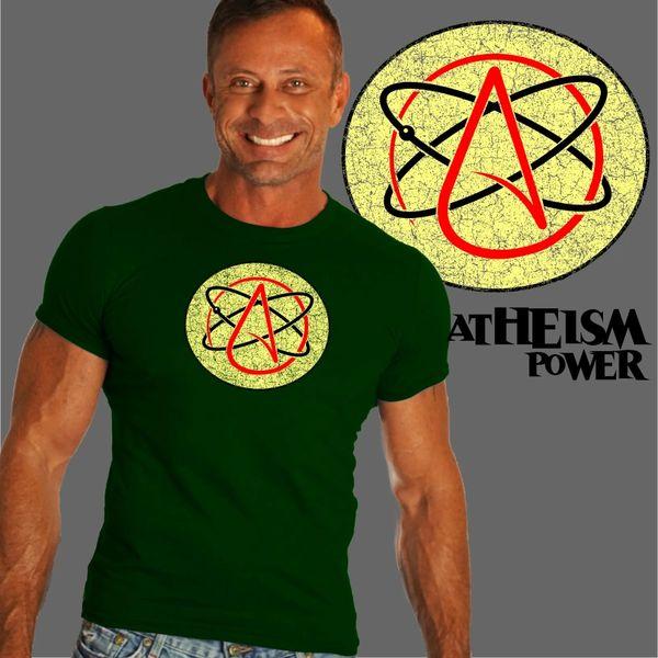 Atheism Power Symbol Shirt By Beardedshirts Bearded Shirts