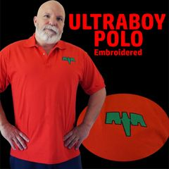 ULTRA BOY Emboidered Cotton Polo Shirt