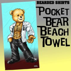 Pocket Bear Beach Towel