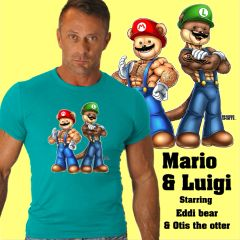 Mario And Lugi Bears