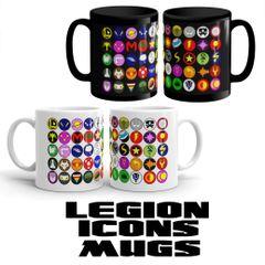 Legion Icons Mugs