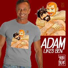 Adam Likes Ben by Bobo Bear