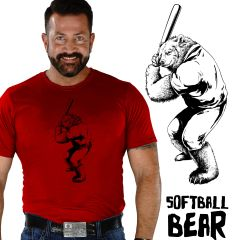 SOFTBALL BEAR