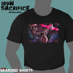 IRON SACRIFICE Shirt by Dave Reyes we