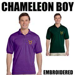 CHAMELEON BOY Embroidered shirts