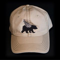 WINGED BEAR HAT