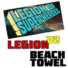 LEGION LOGO V2 Beach Towel