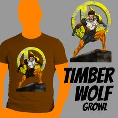 Timber Wolf Growl Shirt