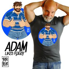 Adam Likes Rubgy by Bobo Bear