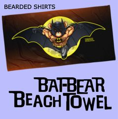Bat Eddi Beach Towel