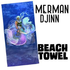 Merman: DJINN Beach Towel