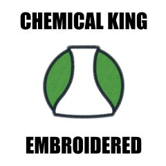 Chemical King Embroidered shirts