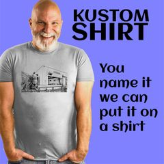 Kustom Shirt - Your picture, beard or logo here
